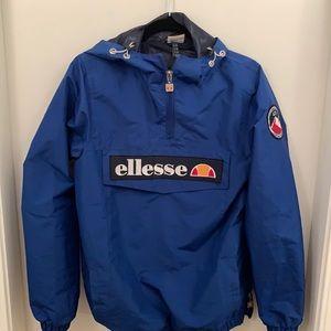 Ellesse Mont 2 Blue Pull over jacket Size XS Men's